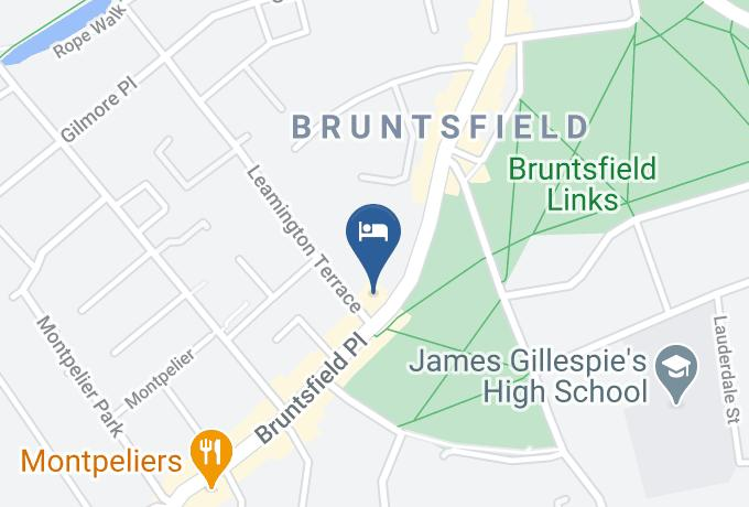 Best Western Plus Bruntsfield Hotel Map - Scotland - Edinburgh City