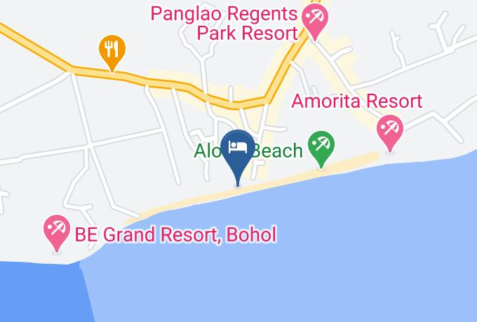 Bohol Divers Resort Map - Central Visayas - Bohol