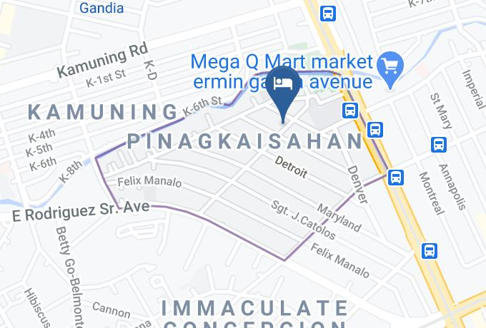 Donegea Transient Map - National Capital Region - Metro Manila