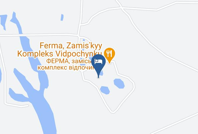 Ferma Hotel Map - Kiev - Boryspil Raion