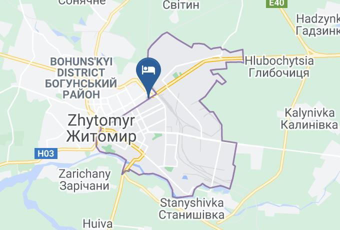 Hostel Zt Map - Zhytomyr