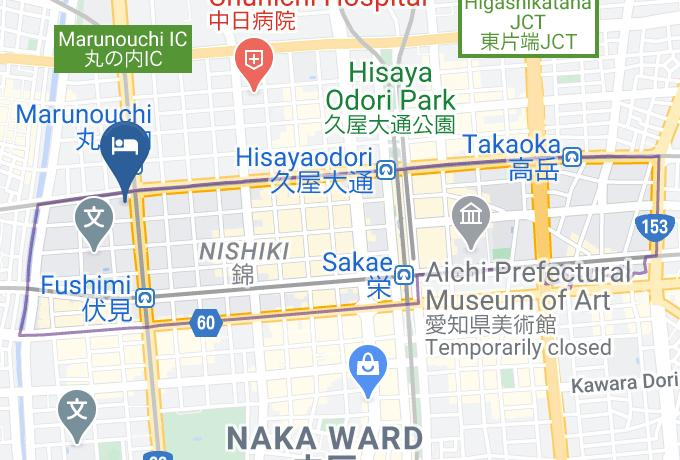 Hotel Wing International Nagoya Map - Aichi Pref. - Nagoya City Naka Ward