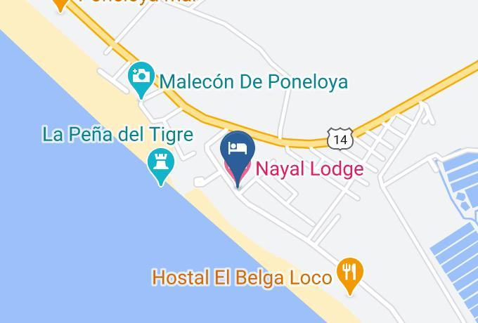 Nayal Lodge Hotel Mapa - Leon