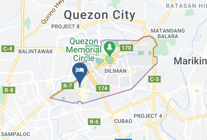 Reddoorz Timog Avenue Quezon City Map - National Capital Region - Metro Manila
