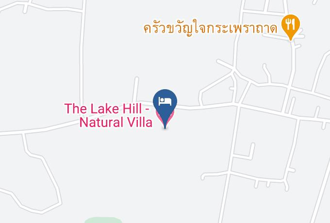 The Lake Hill Natural Villa Map - Prachuap Khiri Khan - Amphoe Sam Roi Yot
