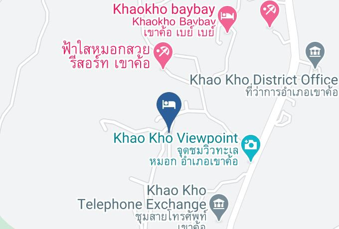 The Proud Resort Map - Phetchabun - Amphoe Khao Kho